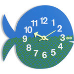george nelson zoo timer fernando the fish clock  -