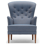 fh419 heritage lounge chair  - Carl Hansen & Son