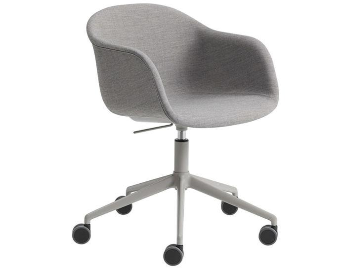 fiber armchair swivel task chair