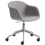 fiber armchair swivel task chair  -