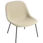 fiber lounge chair with tube base  - muuto