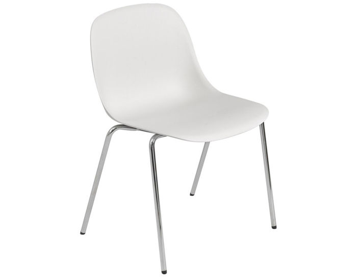 fiber side chair with a-base