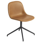 fiber side chair with swivel base  - muuto