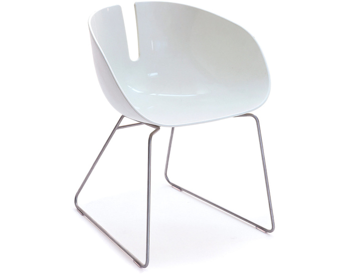 fjord h. sled base chair