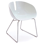 fjord h. sled base chair  -