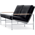 fk 6720 two seat sofa - Kastholm & Fabricius - lange production