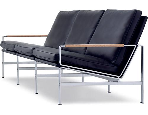 fk 6720 three seat sofa hivemodern