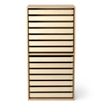 fk63 deep bookcase upright with trays  -