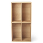 fk63 four section upright bookcase  -