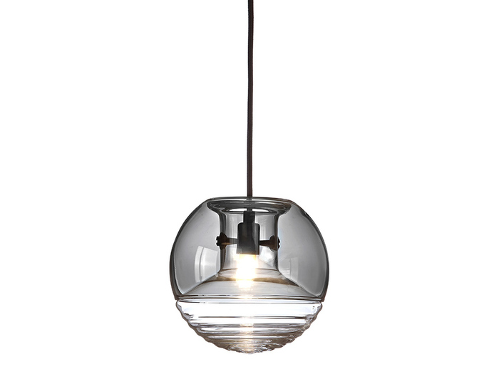 flask smoke ball pendant light