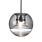 flask smoke pendant light