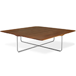 flint 110 square coffee table  - Montis