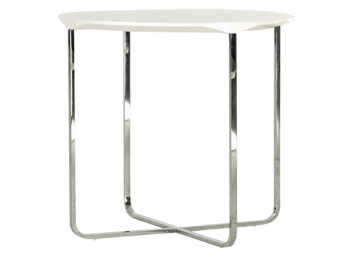 flint 55 round side table