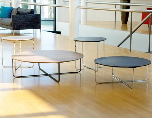 Gentil Flint 80 Round Coffee Table