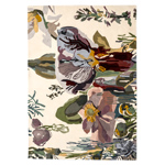 flora backyard rug  -
