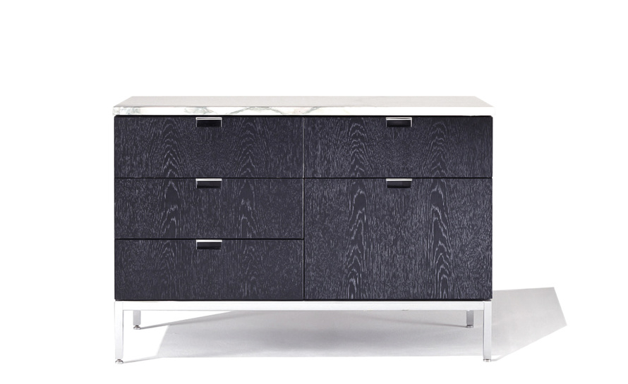 florence knoll 2 position credenza