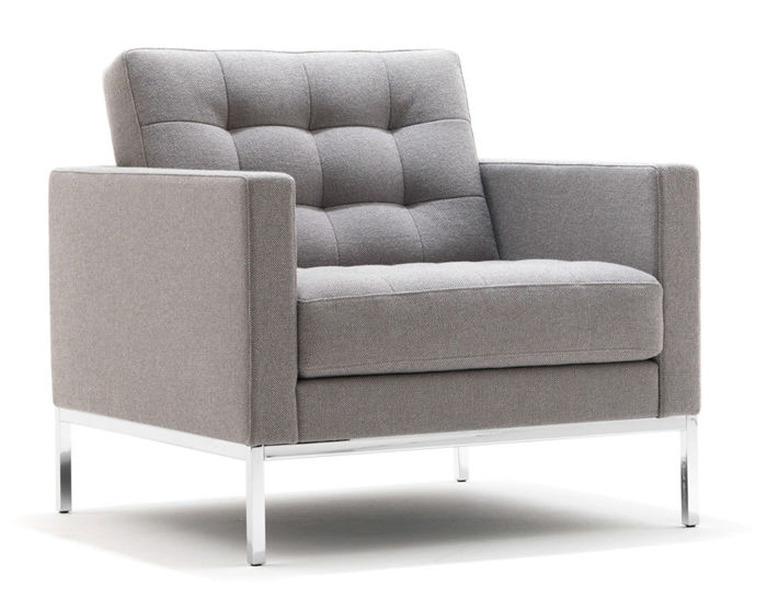 florence knoll relaxed lounge chair