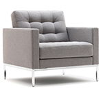florence knoll relaxed lounge chair  -