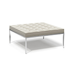 florence knoll relaxed small square bench - Florence Knoll - Knoll