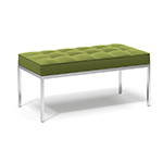 florence knoll relaxed two seat bench  -