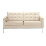 florence knoll settee  -
