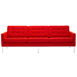 florence knoll 3 seat sofa  -