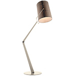 fork floor lamp  -
