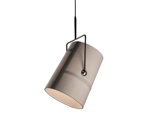fork suspension lamp