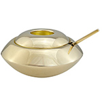 form sugar bowl & spoon  -