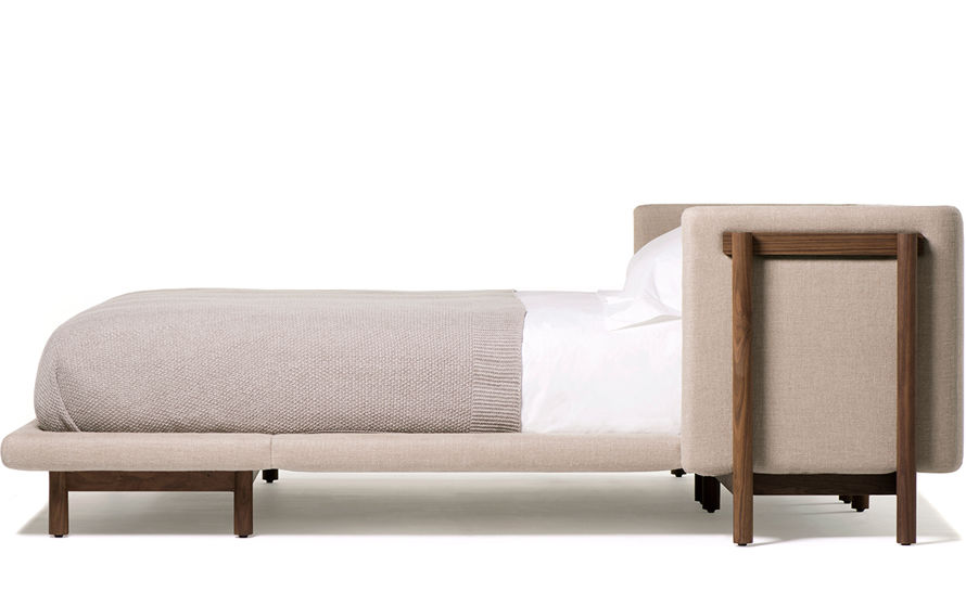 frame king size bed with arms 768