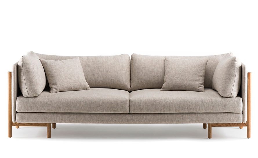 frame medium sofa with arms 766ma