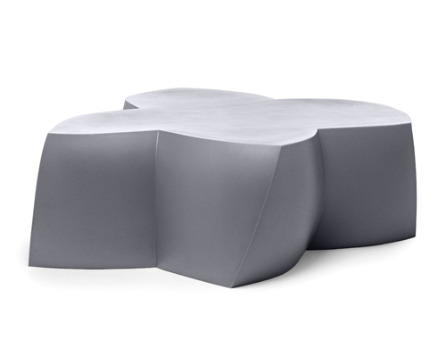 frank gehry coffee table/sitting unit