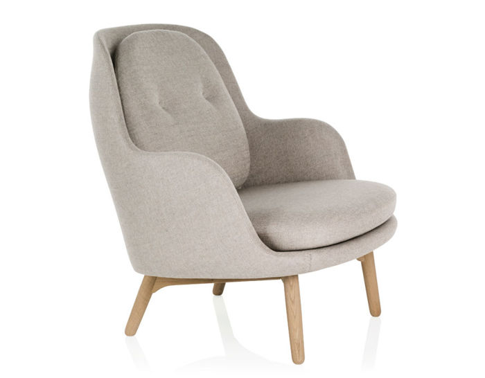Fri Lounge Chair Hivemodern Com