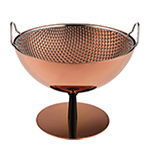 castiglioni fruit bowl with colander in limited edition copper  -
