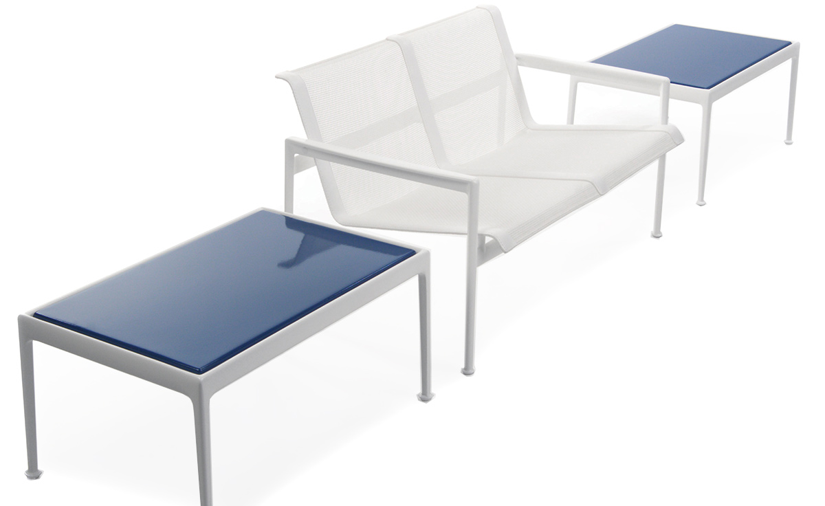Schultz 1966 Two Seat Lounge Chair With Arms