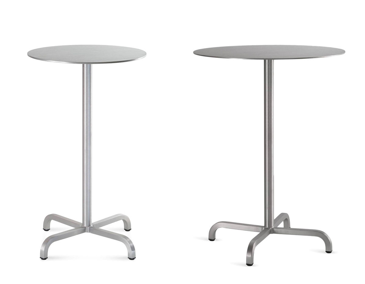 Emeco 20 06 Round Bar Table Hivemodern Com