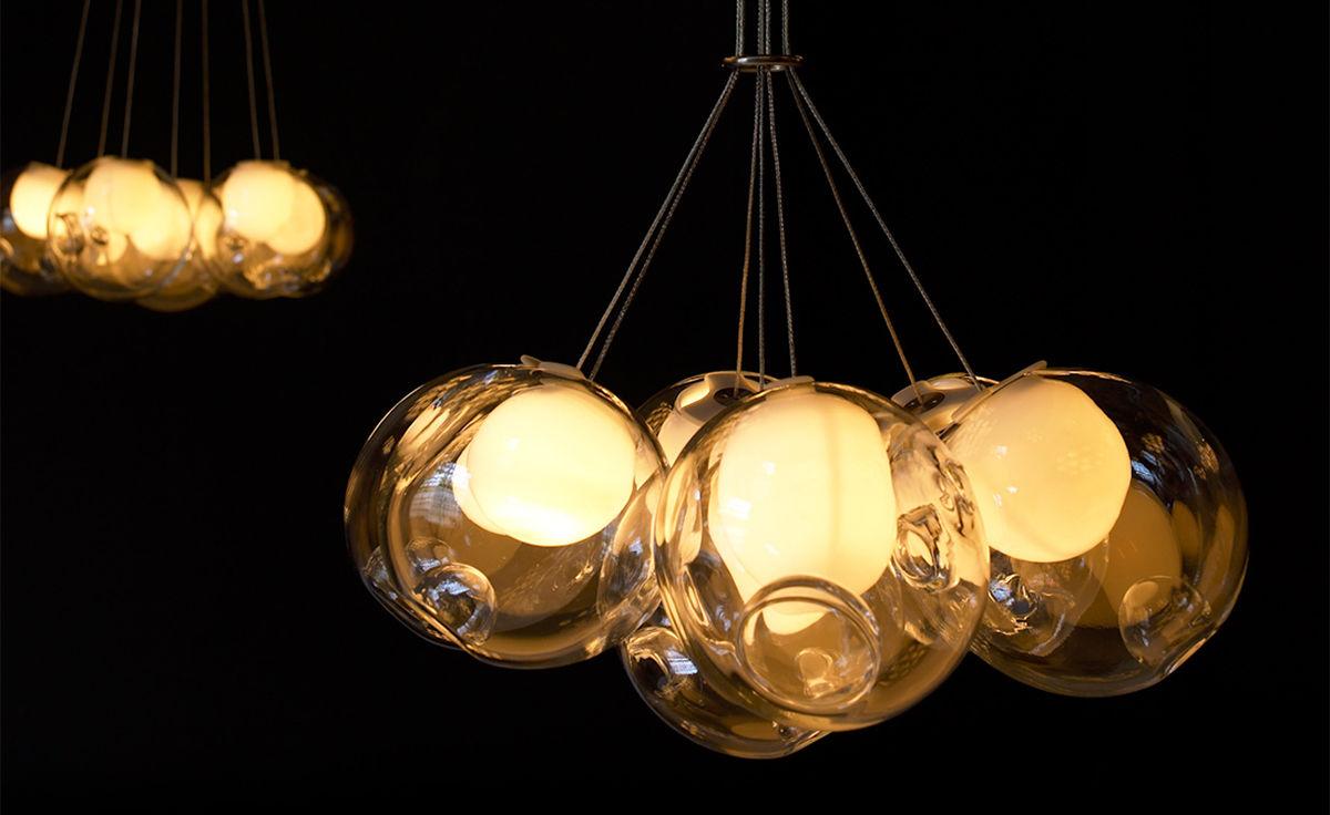 Bocci 287 cluster seven pendant chandelier hivemodern bocci 287 cluster seven pendant chandelier aloadofball Choice Image