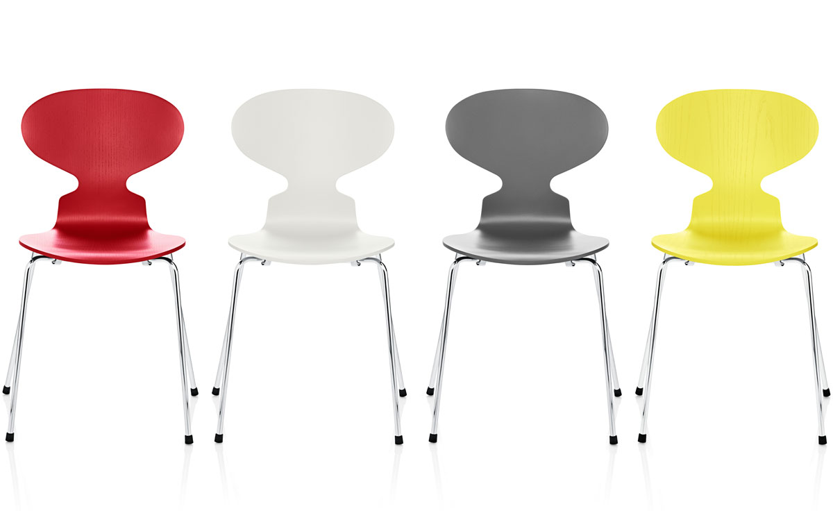 4 leg ant chair color