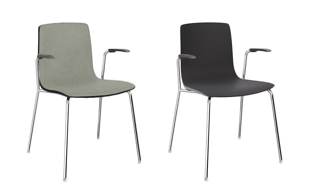 Exceptionnel Aava Polypropylene Chair With 4 Leg Base