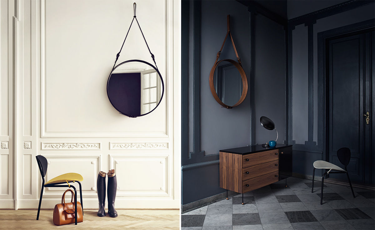 Adnet Circulaire Wall Mirror Hivemodern Com