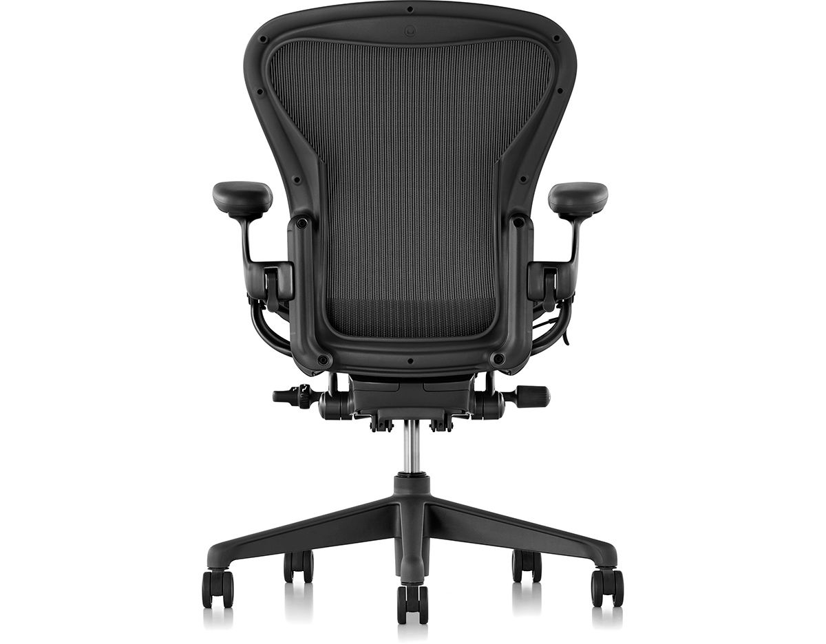 chair aeron herman miller by room conference remastered