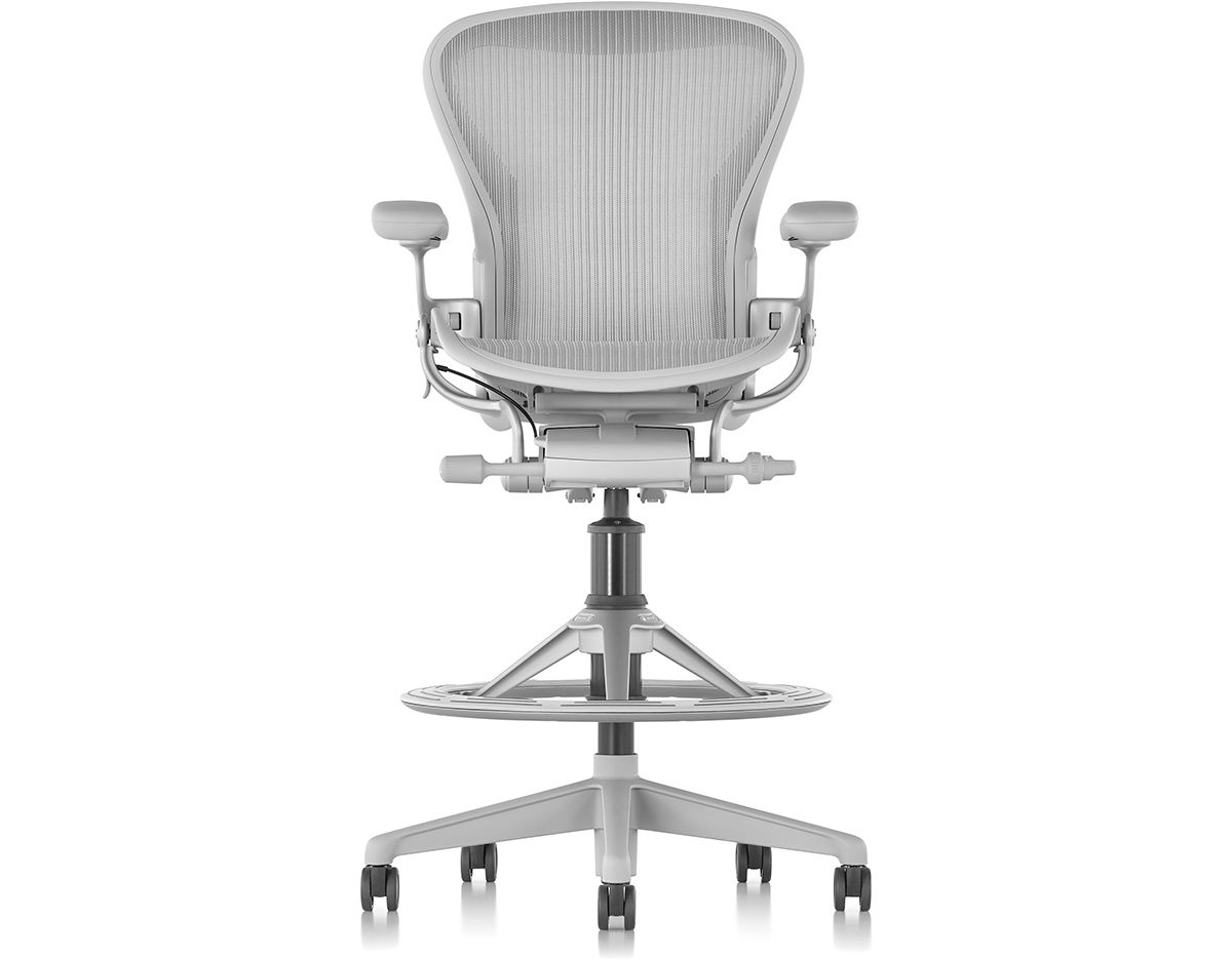 aeron® work stool  hivemoderncom - overview manufacturer media reviews