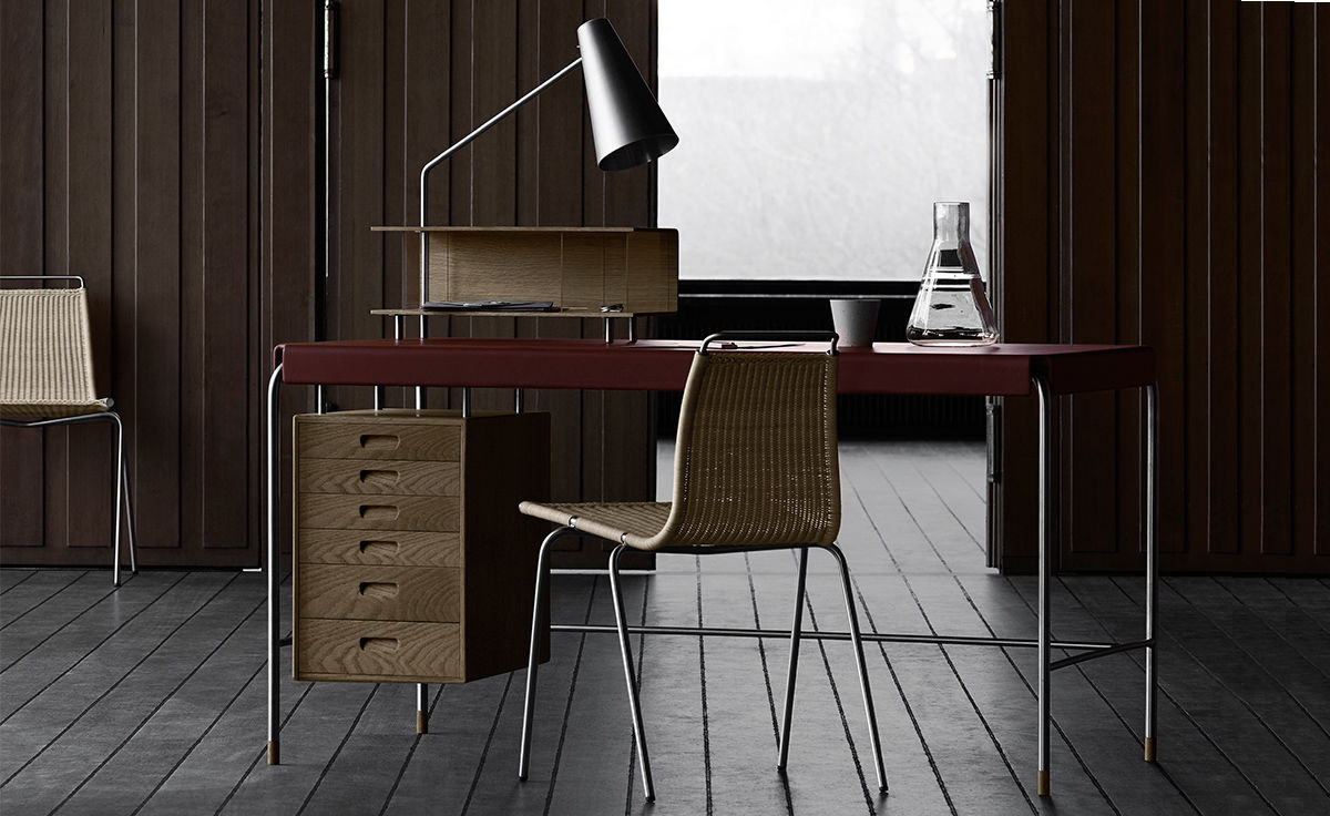 Aj52 Society Table By Arne Jacobsen For Carl Hansen Amp Son