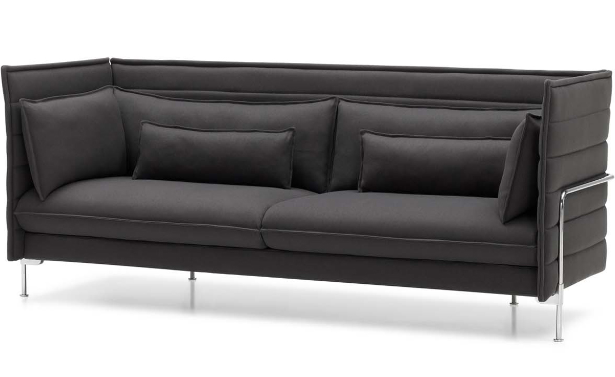 Alcove Three Seat Sofa Hivemodern