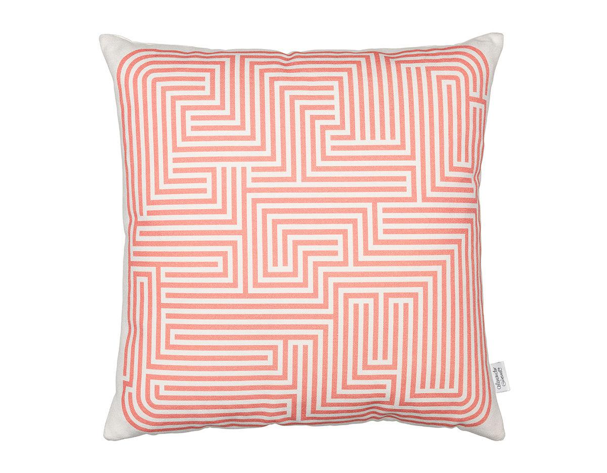 Hive Modern Pillows : Alexander Girard Graphic Print Maze Pillow - hivemodern.com