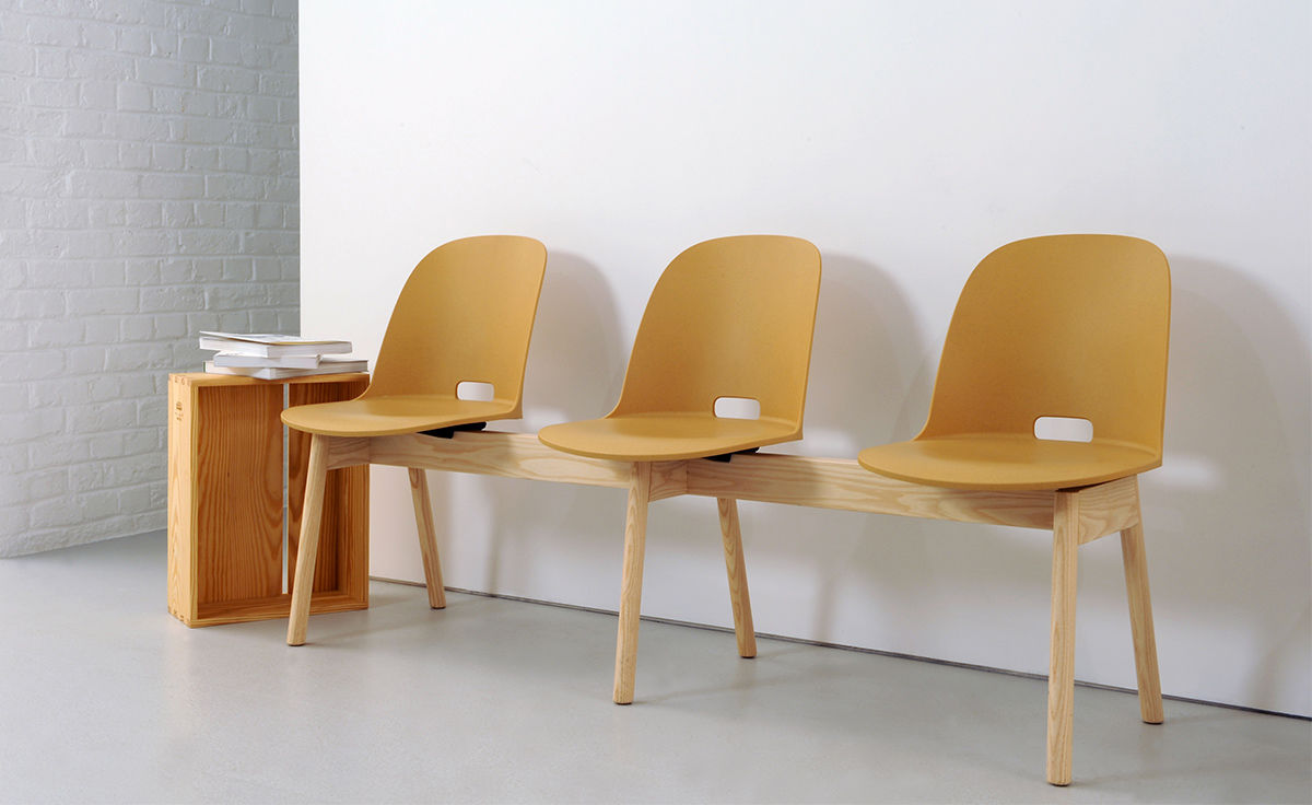 Superb Alfi High Back 3 Seat Bench Gmtry Best Dining Table And Chair Ideas Images Gmtryco