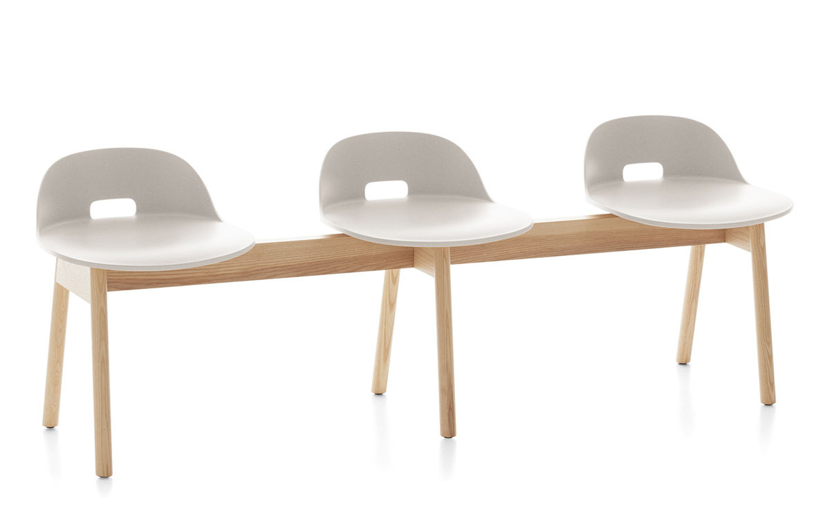 Tremendous Alfi Low Back 3 Seat Bench Gmtry Best Dining Table And Chair Ideas Images Gmtryco