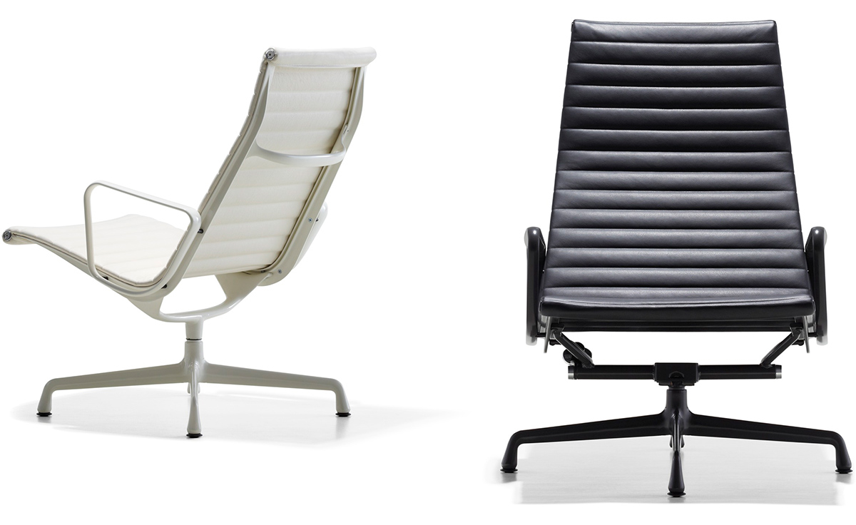 Eames® Aluminum Group Lounge Chair - hivemodern.com