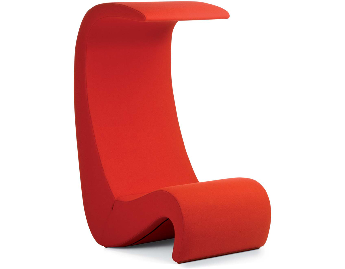 panton amoebe highback chair. Black Bedroom Furniture Sets. Home Design Ideas
