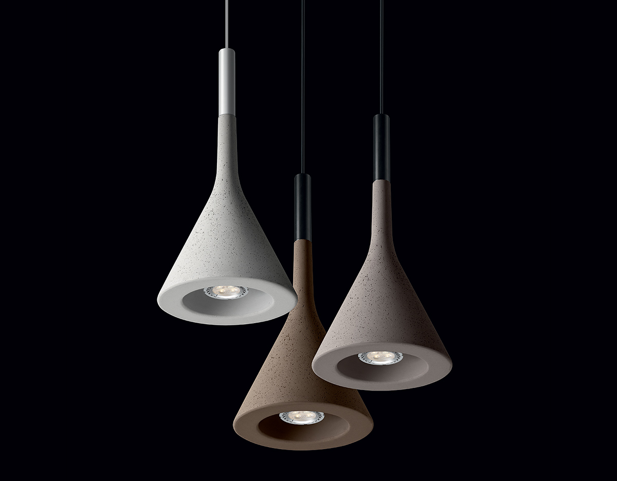 Aplomb suspension lamp for Suspension design